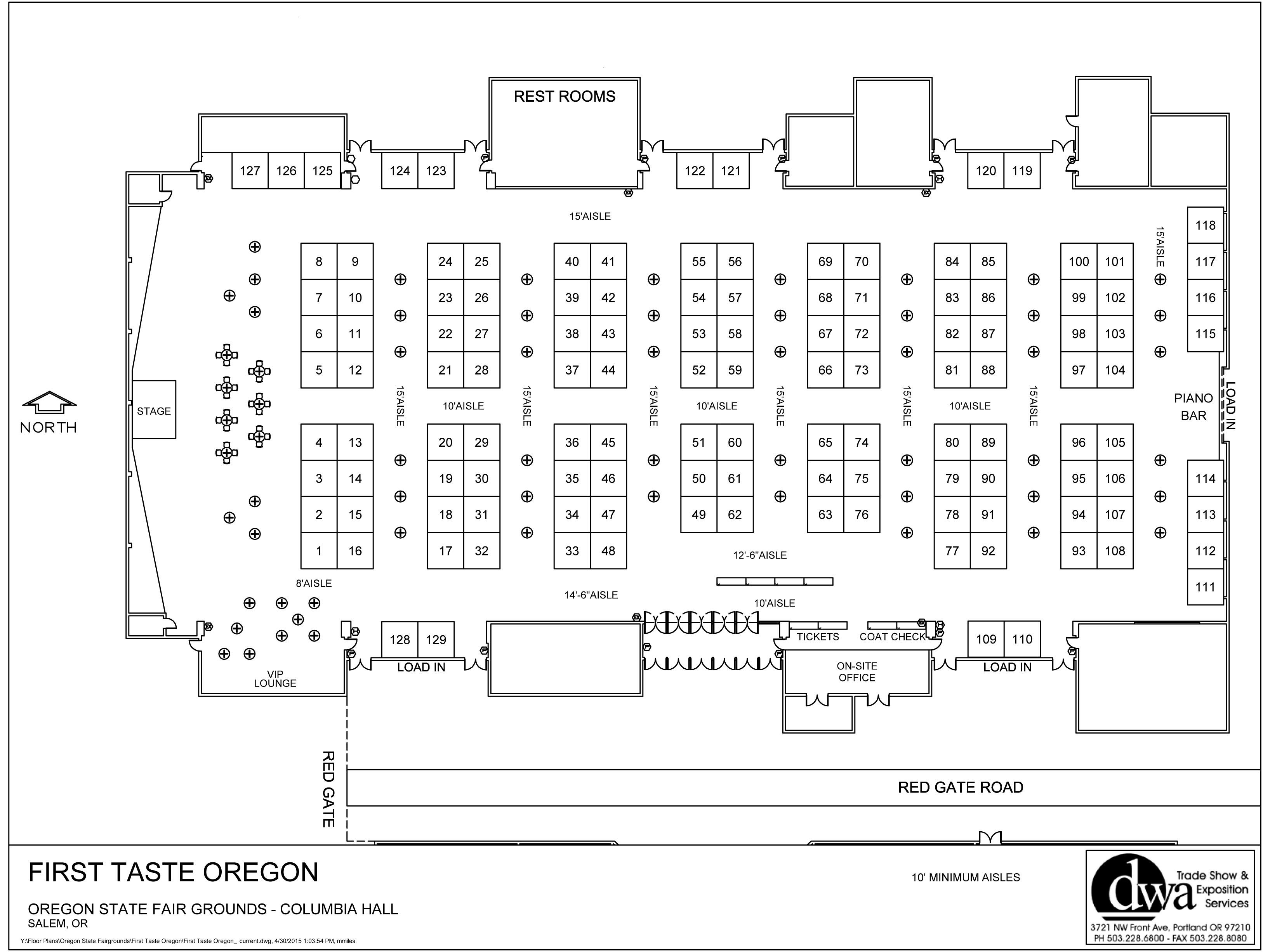 Y:Floor PlansOregon State FairgroundsFirst Taste OregonFirst
